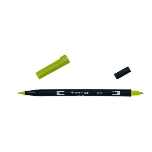 Tombow ABT dubbele brushpen green ochre ABT-076
