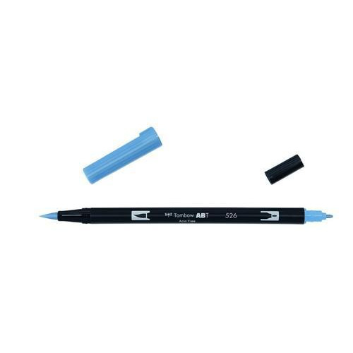 Tombow ABT dubbele brushpen true blue ABT-526