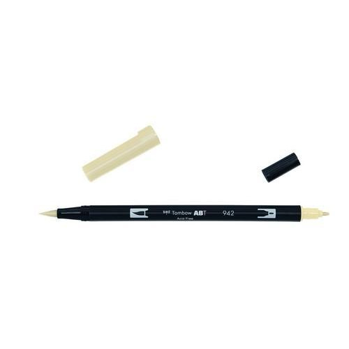 Tombow ABT dubbele brushpen tan ABT-942
