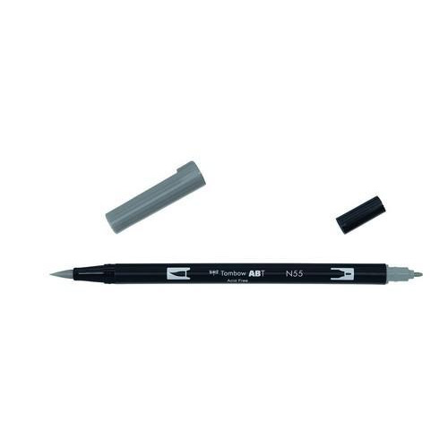 Tombow ABT dubbele brushpen cool grey7 ABT-N55