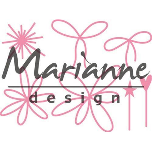 Marianne D Collectable Giftwrapping - Karin`s pins & bows COL1441 (10-17)
