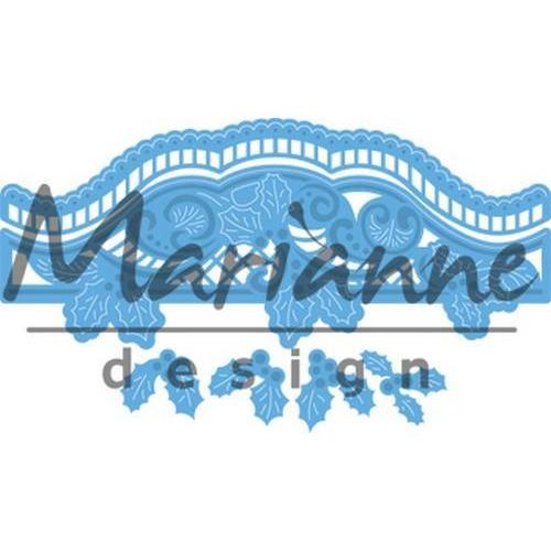 Marianne D Creatable Petra`s Kerst border LR0488 (10-17)