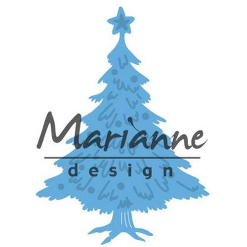 Marianne D Creatable Tiny`s Kerstboom versierd LR0491 (10-17)