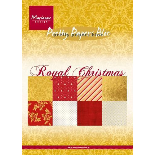 Marianne D Paper pad Royal Christmas PK9151 (10-17)
