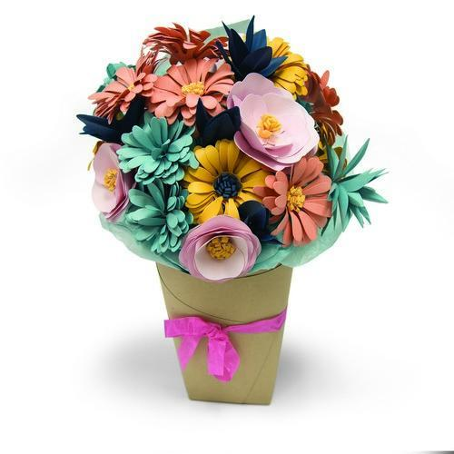 Sizzix Bigz L Die - Bundle of Flowers 661988 Katelyn Lizardi (09-17)