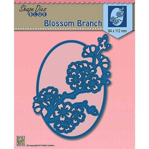 Shape Die Blue- Blossom Branch
