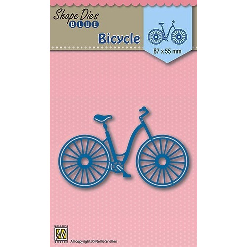 Shape Die Blue- Bicycle