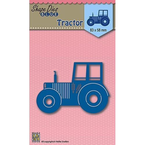 Shape Die Blue- Tractor