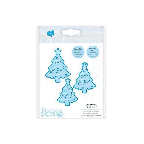 Tonic Studios Die Rococo-Christmas Trio Set-Christmas tree 1783e (08-17)