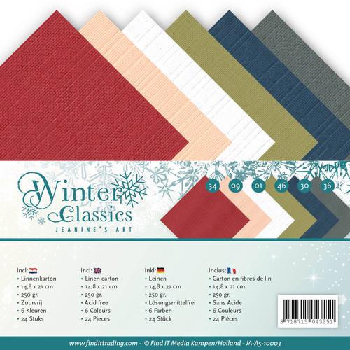 Linnenpakket - A5 - Jeaninnes Art - Christmas Classics