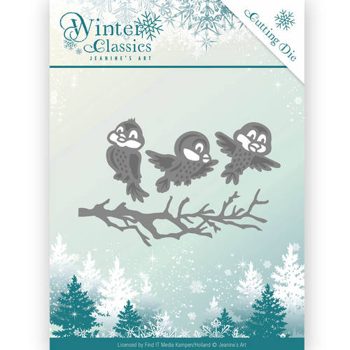 Die - Jeanine`s Art - Christmas Classics - Winter birds