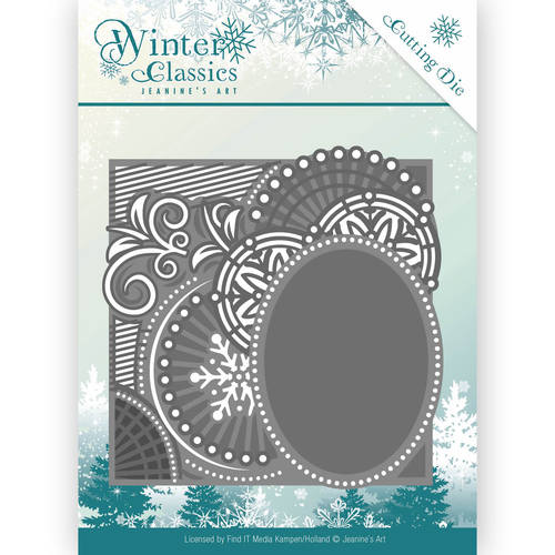 Die - Jeanine`s Art - Christmas Classics - Curly Frame