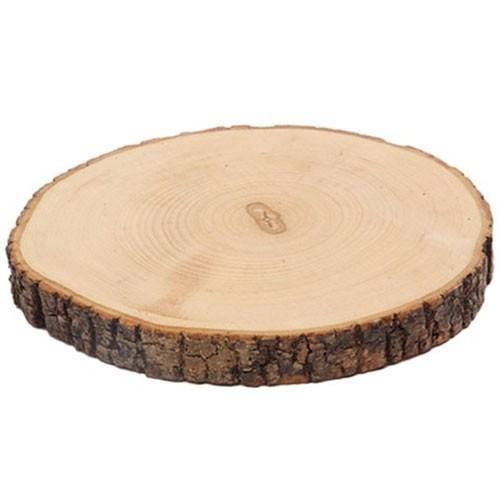 Boomschorsschijf rond diameter 16-18 cm