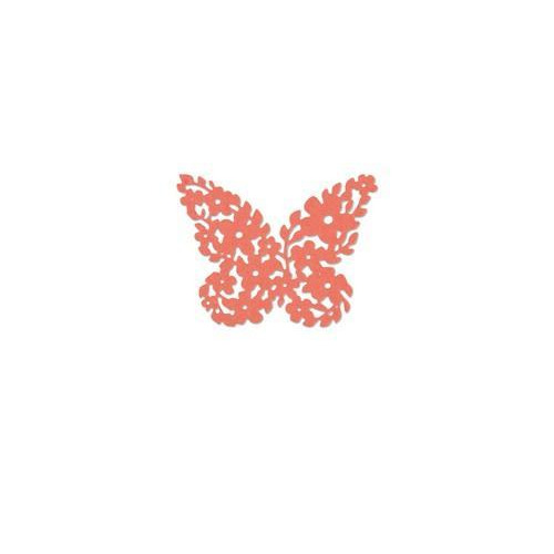 Sizzix Thinlits Die Floral Butterfly 661743 Debi Potter (10-17)