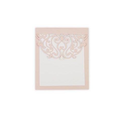 Sizzix Thinlits Die Moroccan Card Edge 661747 Samantha Barnett (10-17)