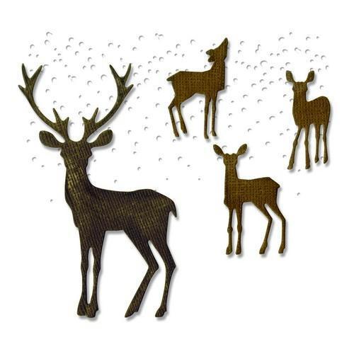 Sizzix Thinlits Die Set 5PK Winter Wonderland 662426 Tim Holtz (10-17)