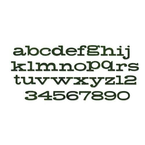 Sizzix Bigz XL Alphabet Die Storybook 662430Tim Holtz (10-17)