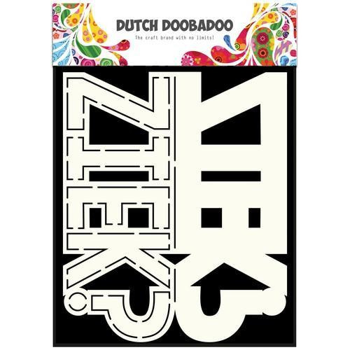 Dutch Doobadoo Dutch Card Art tekst Ziek? A5 470.713.641 (10-17)