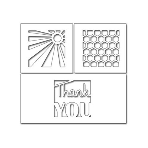 Thank You Squares(Metal Die)