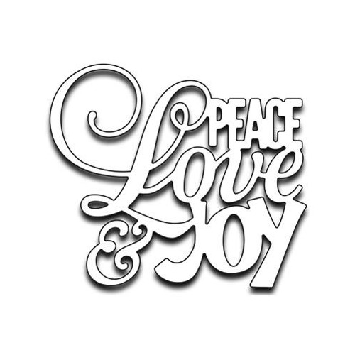 Peace love and joy