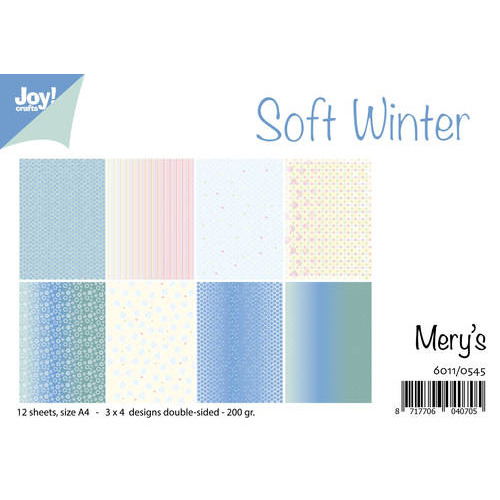 Papierset - Mery`s Soft Winter