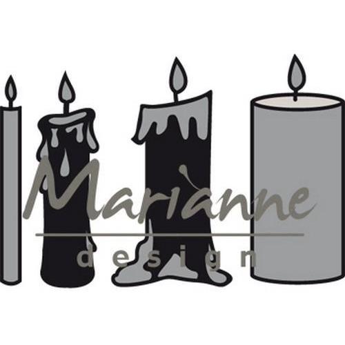 Marianne D Craftable Kaarsen set CR1426 (11-17)