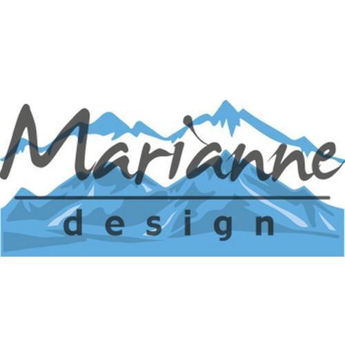 Marianne D Creatable Horizon sneeuw bedekte bergen LR0493 (11-17)