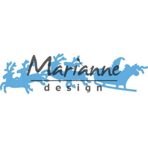 Marianne D Creatable Santa is coming LR0495 (11-17)
