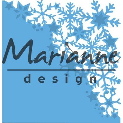 Marianne D Creatable Sneeuwvlokken hoek LR0497 (11-17)