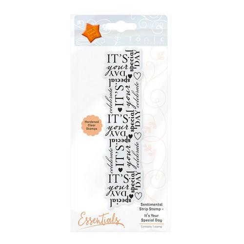 Tonic stamps - Sentimental Strip - it's your special day 1365E (09-17)