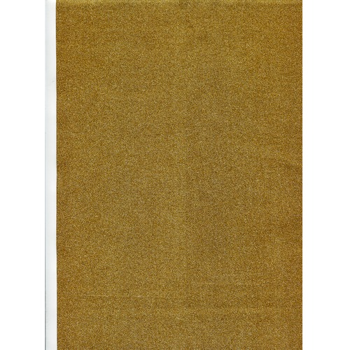 Glitterfolie Goud  zelfklevend A4 2 stuks