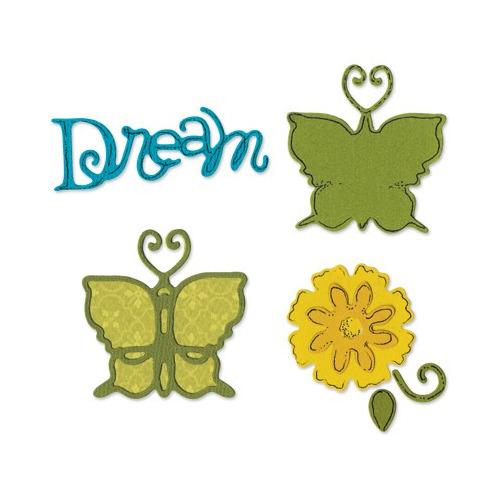 Sizzix butterfly set 2