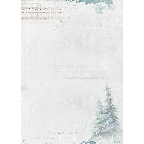 Achtergrondpapier 1 vel A4 Winter Feelings 251 BASISWF251 (10-17)