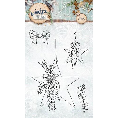Clearstempel A6 Winter Feelings nr 234 STAMPWF234 (10-17)