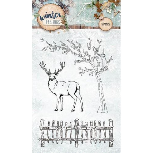Clearstempel A6 Winter Feelings nr 237 STAMPWF237 (10-17)