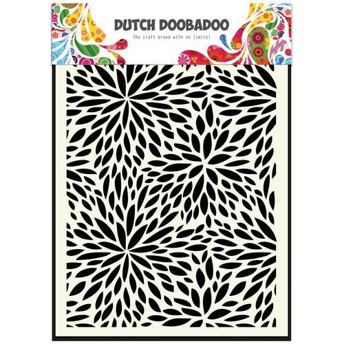 Dutch Doobadoo Dutch Mask Art A5 Floral Waves  470.715.116 (11-17)