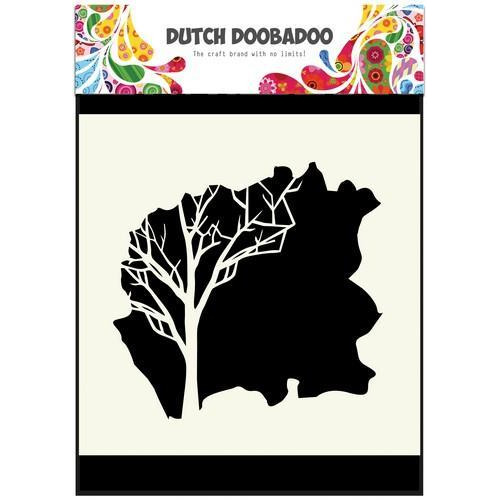 Dutch Doobadoo Dutch Mask Art 15 X 15 cm boom 470.715.604 (11-17)
