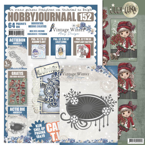 Hobbyjournaal 152 - SET - ADD10124