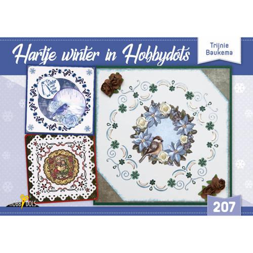 Hobbydols 207 - Hartje winter in Hobbydots - Trijnie Baukema