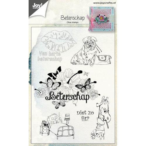 Clear stempel - Beterschap NL