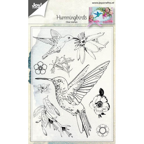 Clear stempel - Hummingbirds
