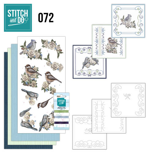 Stitch and Do 72 AD Vintage Winter