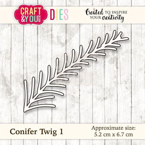Conifer Twig 1