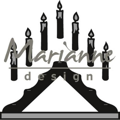 Marianne D Craftable Candle bridge CR1427 (12-17)