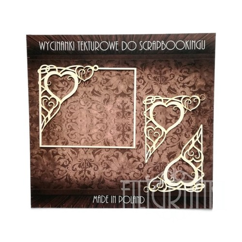 Filigranki Laser Cut Chipboards FRAME & CORNERS
