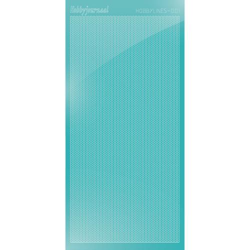 Hobbylines sticker - Mirror Emerald