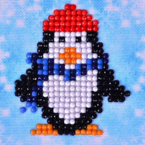 DDS.016 Diamond Dotz® - 7,6x7,6cm - Penguin Waddle
