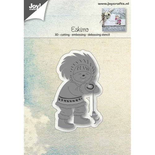 Snij-embos-debosstencil - Eskimo