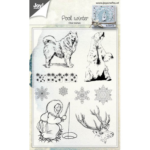 Clear stamp - Poolwinter