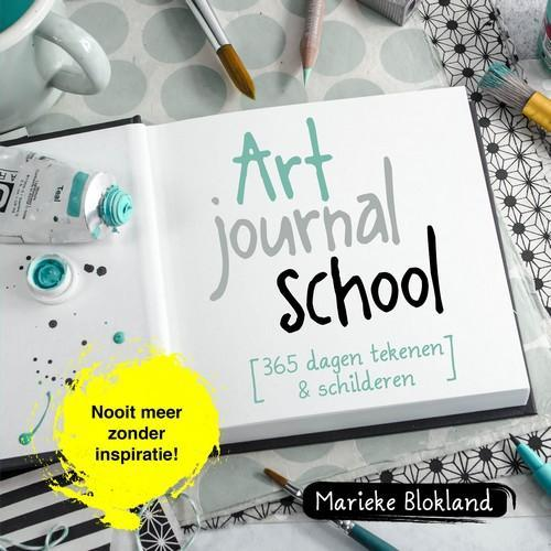 Kostmos boek - Art journal school Blokland, Marieke (01-18)